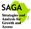 Strategies and Analyses for Growth and Access Program Logo